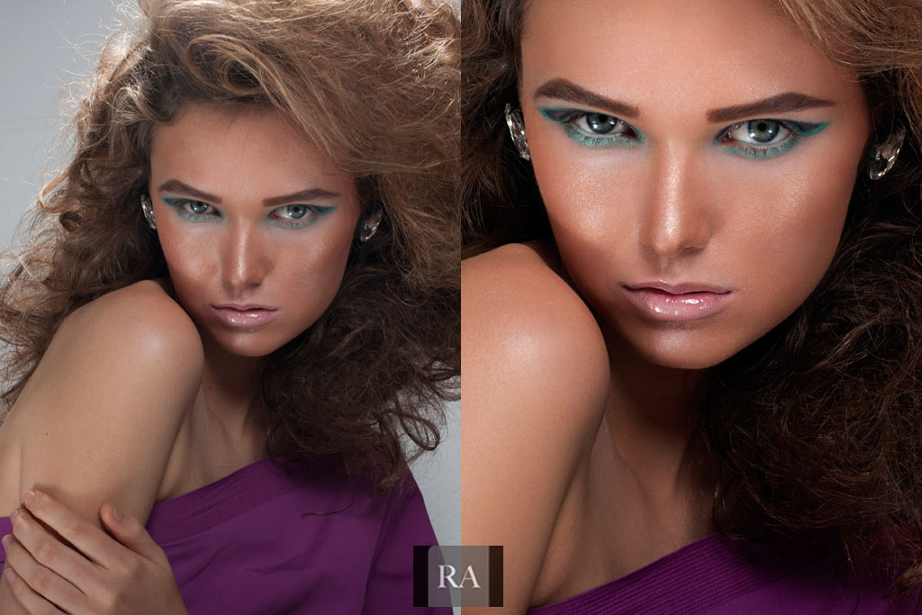 Beauty and Hair Retouching