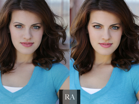 headshot retouching is necessary